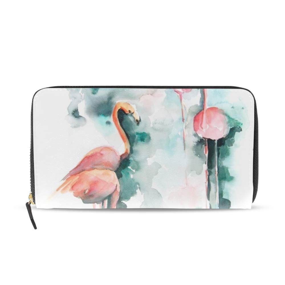 Womens Cactus Bloom Large Capacity Soft Leather PU Wristlet Wallet Checkbook Passport Holder