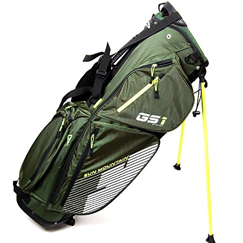 New Sun Mountain GS1 Stand Bag Green / Black / Flash by Sun Mountain (Image #3)