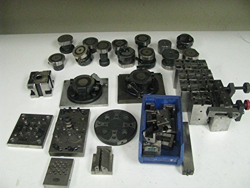 Huge Lot of EDM tooling - mixed mfg. - Erowa, James Tool, etc. - FN38 from Does not apply