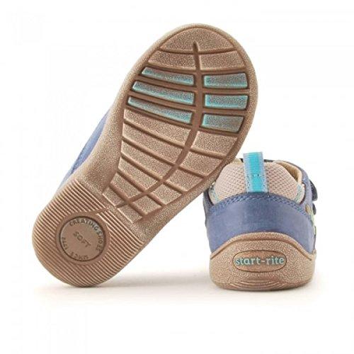 SR rite en Start garçons Doux Super clair Leo Bleu Chaussures cuir 5BnOwnx