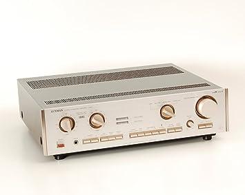 LUXMAN L de 410 Amplificador con Phono: Amazon.es: Electrónica