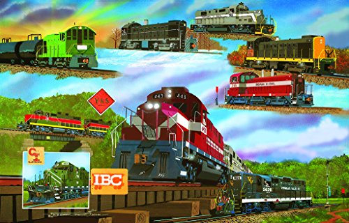 For the Love of Trains - A 1000 Piece Jigsaw Puzzle by (Historic Trains)