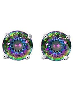 d silver colored cushion earrings products stud shaped sterling st diamond