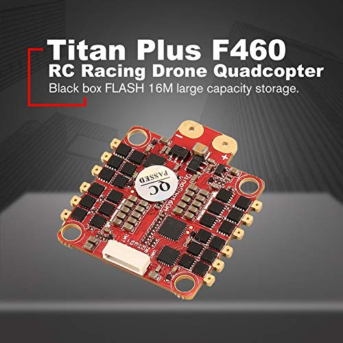Wikiwand HGLRC Titan Plus F460 Stack Airbus F4 Flight Controller OSD 60A Blheli_32 ESC by Wikiwand (Image #3)