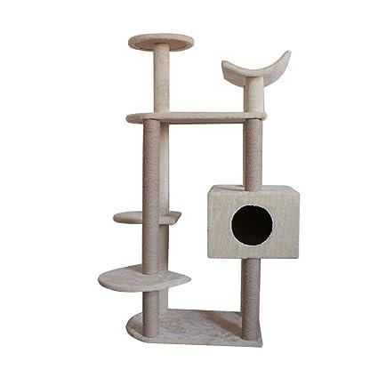Árbol de gato de 6 plantas escalada marco Gato gato nido ...