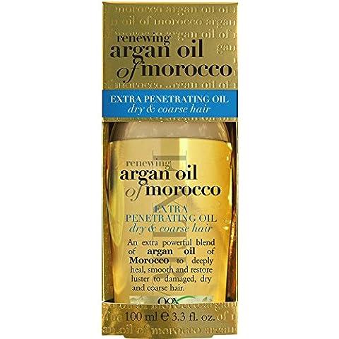 Aceite de Argan Tratamiento Regenerador Del Cabello 100% En Pureza! Tratamiento Profesional Avanzado Crece, Fortalece, Hidrata y Suaviza El Pelo. Frasco 3.3 (Como Repara)