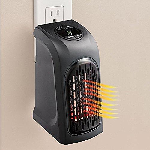 Yiding Mini Warm Air Blower Plug in Handy Heater Portable Wall-Outlet Electric Handy Warm Air Heater Fan