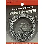 Moore Push-Pin Picture Hangers Set 6Pc