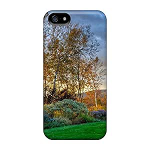 New Arrival HkM31035Fdur Premium Diy For Touch 4 Case Cover (cloudy Autumn Sky)