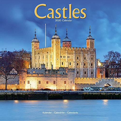 Castle Calendar - Calendars 2019 - 2020 Wall Calendars - Photo Calendar - Castles 16 Month Wall Calendar by Avonside (Multilingual Edition)