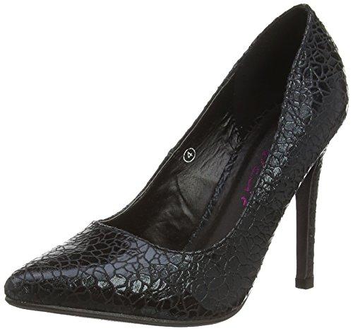 de tacón Zapatos Dolcis Mujer negro Negro Dolcis Turin qf6t1R