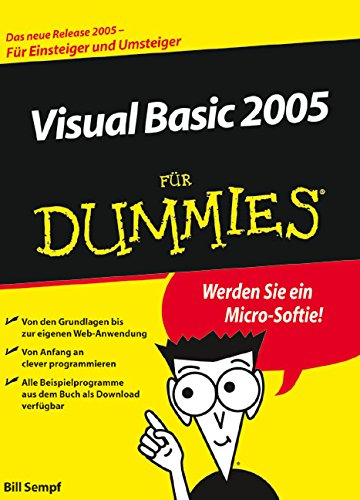 Visual Basic 2005 für Dummies