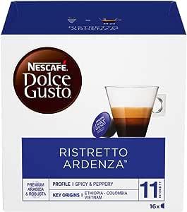 NESCAFÉ Dolce Gusto Café Ristretto Ardenza, Pack de 3 x 16 Cápsulas - Total: 48 Cápsulas de Café: Amazon.es ...