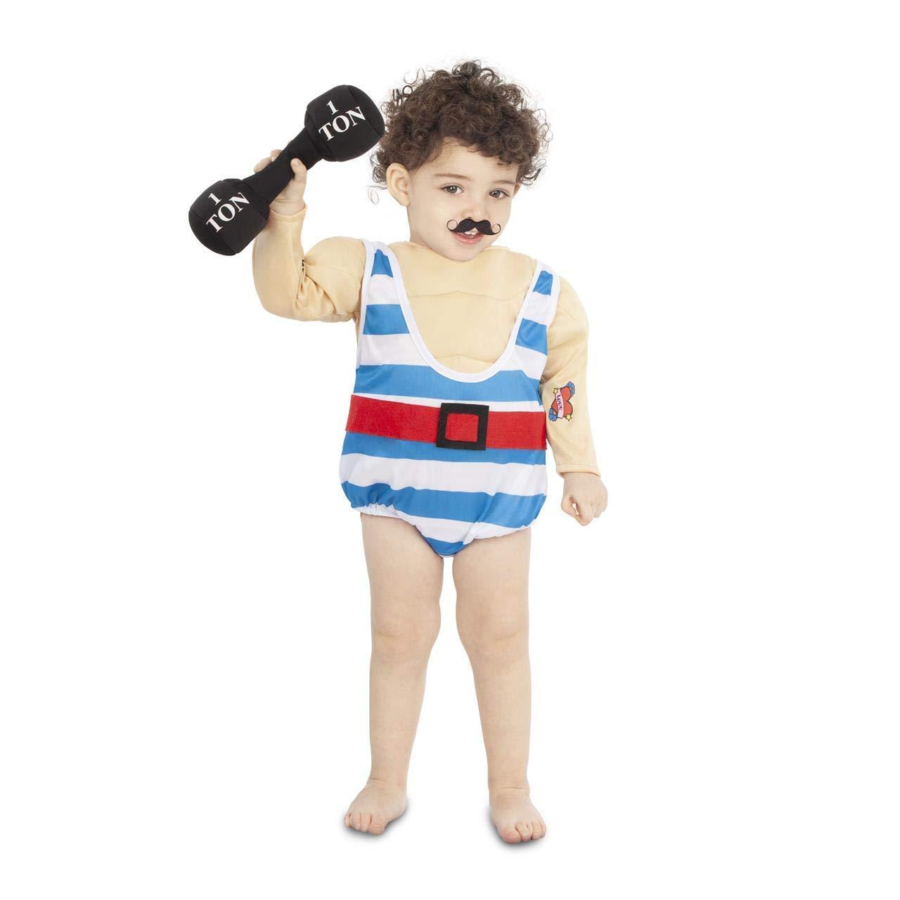 My Other Me Disfraz de Forzudo de Circo para bebé: Amazon.es ...
