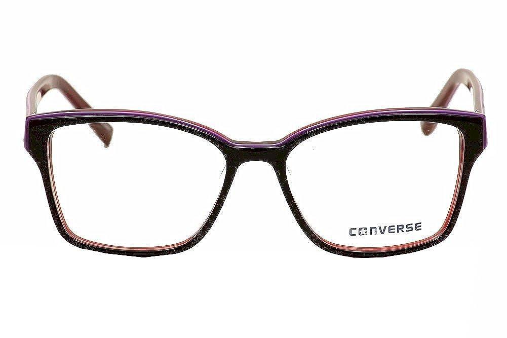 bbfd292fdf Converse Women s Eyeglasses Q048 Q 048 Black Fashion Full Rim Optical Frame  52mm  Amazon.ca  Clothing   Accessories