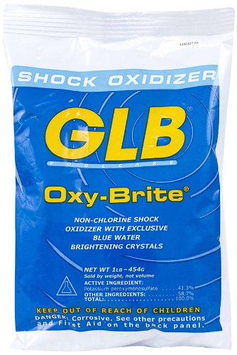 GLB 71414A-20 Oxy-Brite Non-Chlorine Shock Oxidizer, 1-Pound, 20-Pack