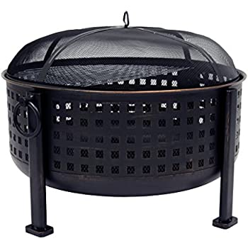 Amazon Com Cobraco Bravo Mesh Fire Pit Garden Amp Outdoor