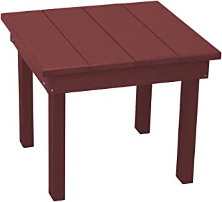 product image for Outdoor Hampton End Table - Cherrywood Poly Lumber - Recycled Plastic