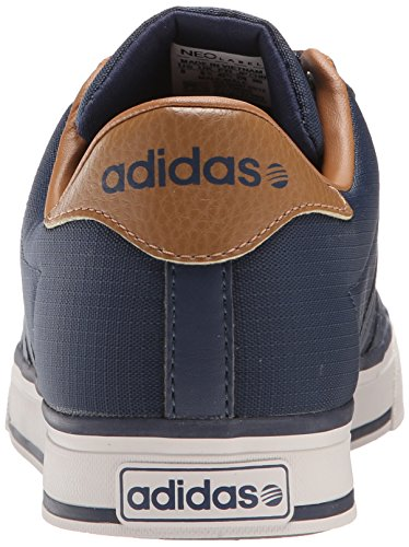 adidas NEO Men's Daily Lifestyle Skateboarding Sneaker Collegiate Navy/Collegiate Navy/Brown clearance pre order UvTWhz