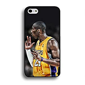 Cute Anime Kobe Bryant Phone Case Cover For Iphone 6 Plus/6S Plus [5.5 Inches] Black Hard Case AIR50