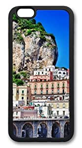 iphone 6 plus Case and Cover -Positano TPU Rubber Soft Case Back Cover for iphone 6 plus 5.5 inch Black