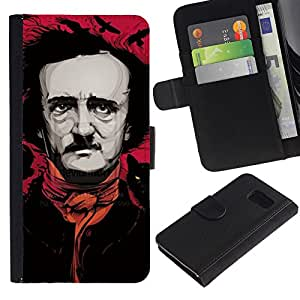 ZCell / Samsung Galaxy S6 / Monty Movie Producer Comedian / Caso Shell Armor Funda Case Cover Wallet / Monty Película Productor Cóm