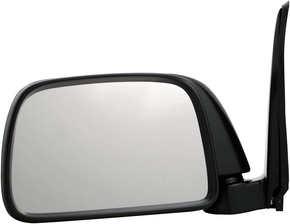Black Manual TO1321116 for 1995-2000 Toyota Tacoma Roane Concepts Replacement Right Passenger Side Door Mirror