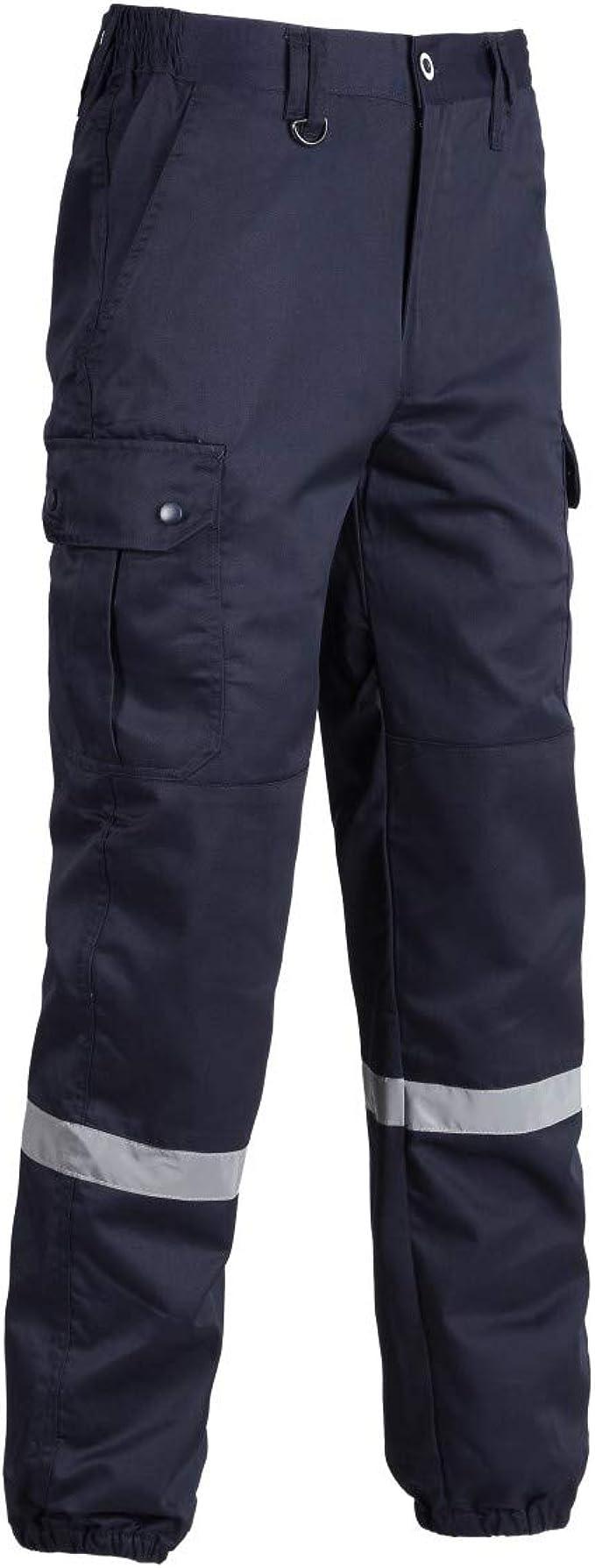 Pantalon ambulancier avec bandes reflechissantes NW