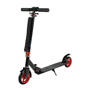 Patinetes clásicos Scooter Plegable para Adolescentes/Adultos, Scooter de Patada Ajustable Que Absorbe los