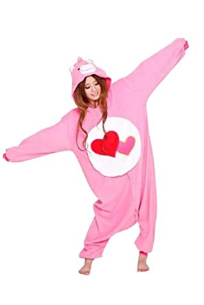 Care Bears Adult Unisex Animal Kigurumi Cosplay Costume Pajamas Onesies (S)