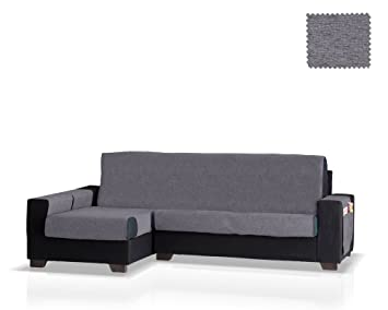 JM Textil Cubre sofá Chaise Longue Biggie, Brazo Izquierdo, tamaño Normal (243 Cm.), Color 26