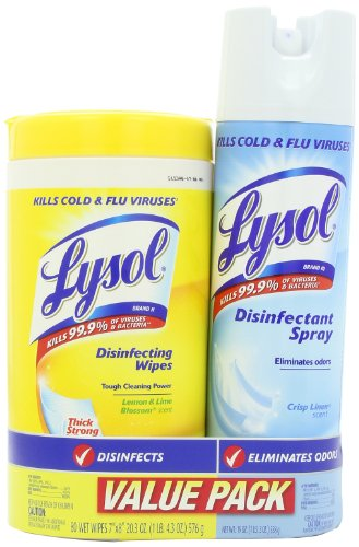🥇 Lysol Base 80ct Household Cleaning Wipes