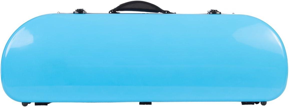 Estuche para violín fibra Street 4/4 sky blue M-Case + music bag: Amazon.es: Instrumentos musicales