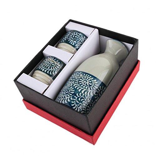 SERVICE à SAKE JAPONAIS - Design Nippon Traditionnel Lachineuse