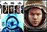 Space Mission Collection Martian Matt Damon & Life Deni Villavue starring Jake Gyllenhaal and Ryan Reynolds 2-DVD Bundle Double Feature