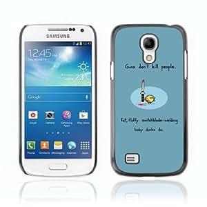 Designer Depo Hard Protection Case for Samsung Galaxy S4 Mini / Guns Don't Kill People