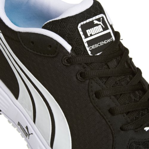 Puma Uk 7 Descendent Sport 5 40 Noir Blanc Chaussures Eu Unisèxe Baskets Hommes Adulte Femmes rTrPvq
