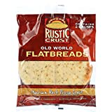Rustic Crust Pizza Crust - Flatbreads - Italian Herb - 2 pack - 9 oz - case of 12 -