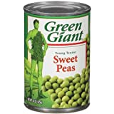 Green Giant Peas, 15-Ounce (Pack of 24)