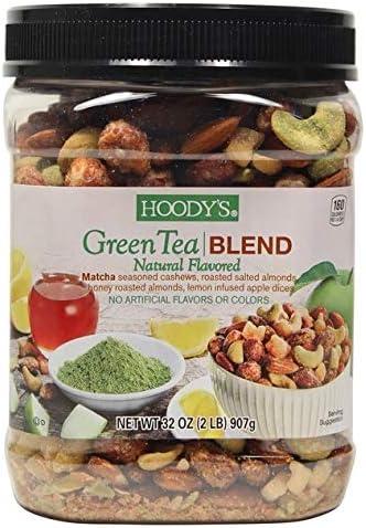 Hoody's Nut Blend Green Tea Trail Mix フーディーズナッツブレンドグリーンティートレイルミックス900g [並行輸入品]