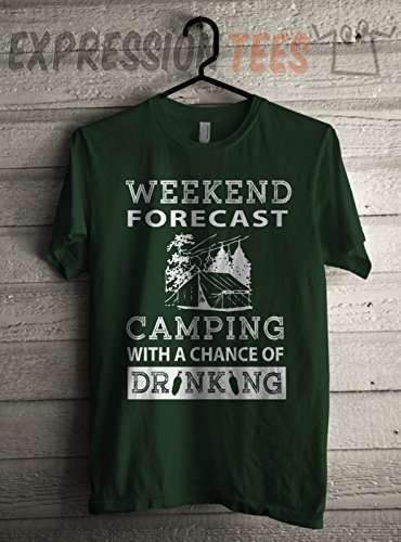 Weekend-Forecast-Camping-With-A-Chance-Of-Drinking-Unisex-Adult-Hoodie