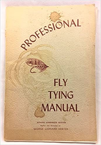 Professional Fly Tying And Spinning Lure Making Manual