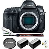 Canon EOS 5D Mark IV DSLR Camera ( Body Only ) + 2x LP-E6 High Capacity Replacement Batteries + HDMI + Expo Starter Cleaning Kit