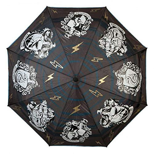 Harry Potter Hogwarts Houses Color Changing Umbrella