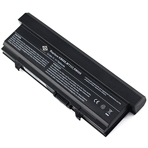 Bay Valley Parts 9 Cell Laptop Battery for Dell Latitude E5410 E5500 E5400 E5510 Series, fits P/N KM742 WU841 T749D