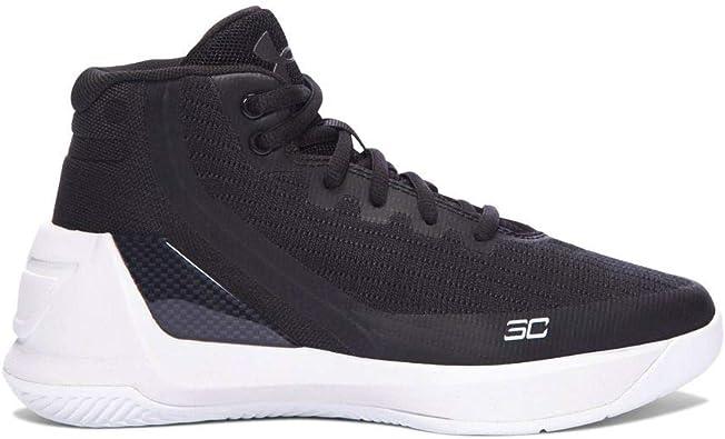 estático Respeto a ti mismo Caducado  Under Armour Zapatillas de baloncesto Boy's Under Armour Curry 3, negras /  blancas, talla 10 para ni?os de EE. UU.: Amazon.es: Zapatos y complementos