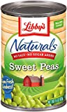 Libby's Naturals Sweet Peas, 15-Ounce  Cans (Pack of 12)