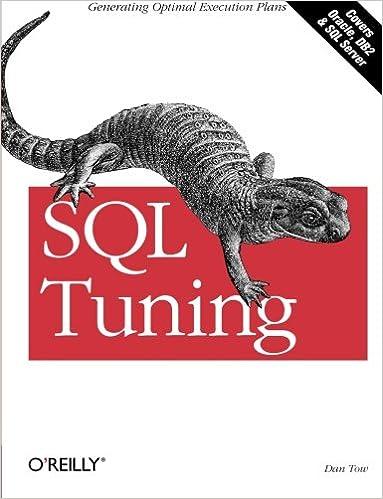 Tuning dan pdf sql tow