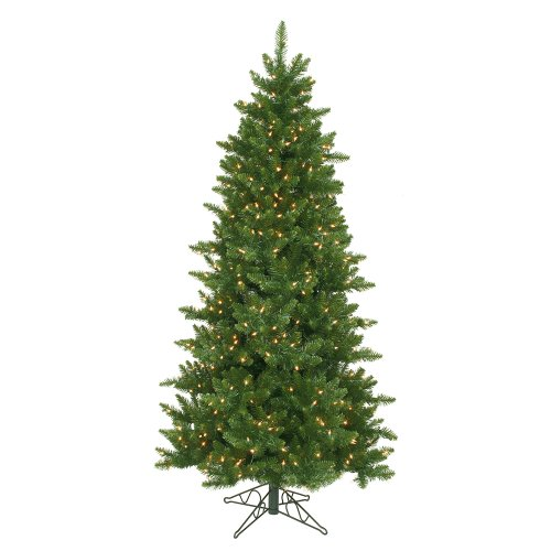 Vickerman 65' Camdon Fir Slim Artificial Christmas Tree with 550 Clear Lights