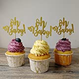 #10: Set of 24 Oh Baby Cupcake Toppers Baby Shower Party Decors - by Giuffi